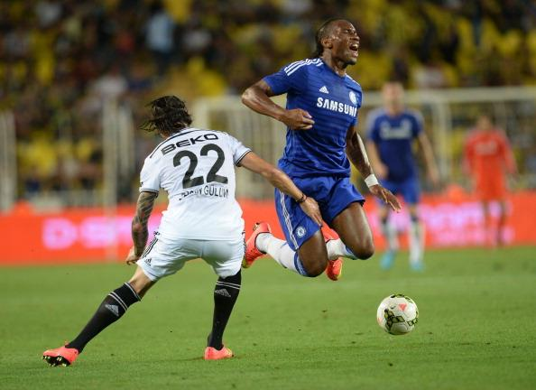 Didier Drogba Lasted for Just a Half-Hour in Chelsea's Pre-Season Win in Budapest.