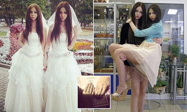 Bride, Groom Wear Dresses In Unusual Androgyne Wedding