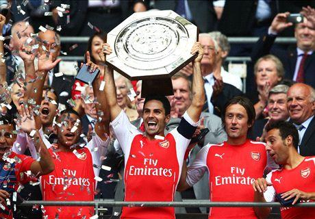 Arsenal are Community Shield Champions