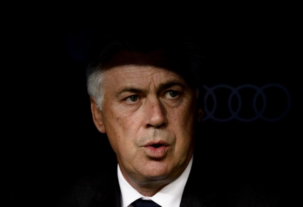 Ancelotti Believes His Team Lost to Atletico Madrid Not Because of His Favoured System. Image: AFP.