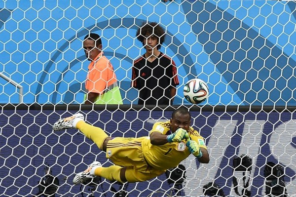 Vincent Enyeama Has Lauded Nigerian Government Over Ebola. Image: Getty.