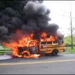 bus fire