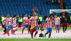 Copa del Rey Winners.