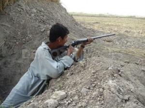 file: gunman laying ambush on disputed land