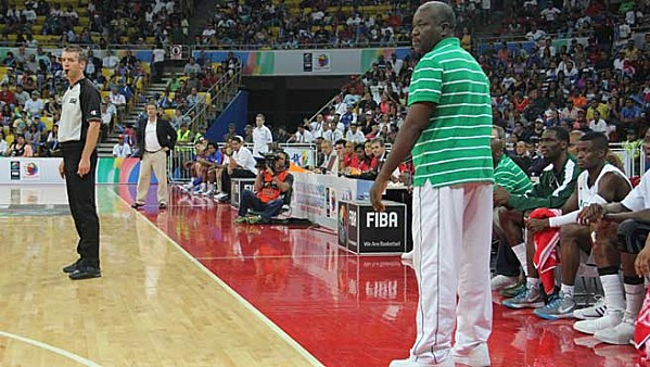 Coach Tunde Bakare of D'Tigers.
