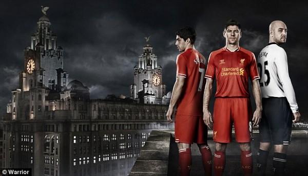 Liverpool's Home Kit.