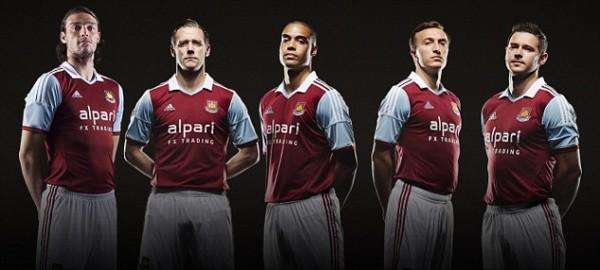 West Ham's Home Kit.