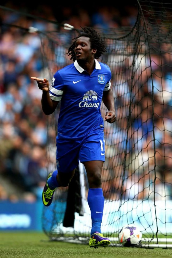 Romelu Lukaku Scores His Fourth Premier League Goal in Three matches At the Etihad on Matchday 7.