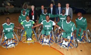 Nigeria's Wheelchair Basketball Team.