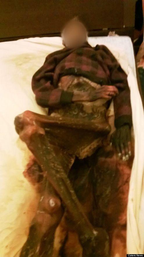 Mummified Body Found
