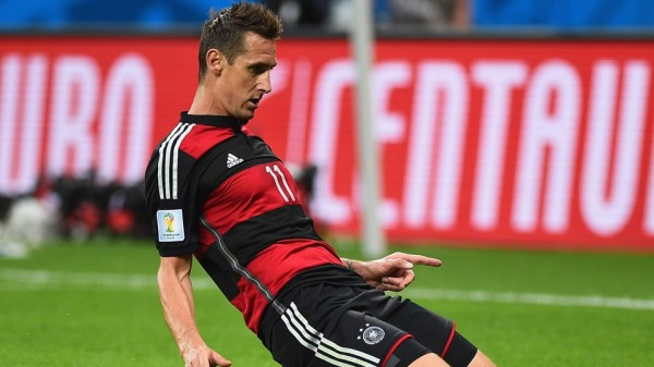Klose Becomes the Highest-Scoring Player at the Fifa World Cup Finals. Image: Fifa via Getty Image.