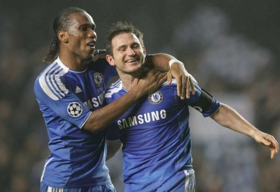 Didier Drogba and Frank Lampard Played Together at the Bridge for 8 Seasons.