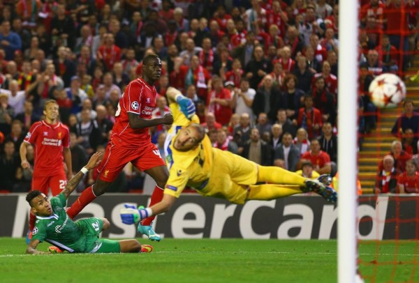 Mario Balotelli Slots Home from Ten Yards Against Ludogorets. Image: Getty