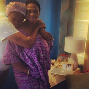 Waje-and-mum