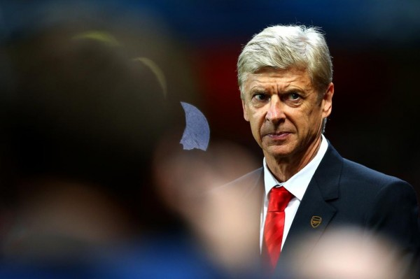 Arsene Wenger Watches on During Wednesday's Champions League Win Over Galatasaray. Image: Getty.