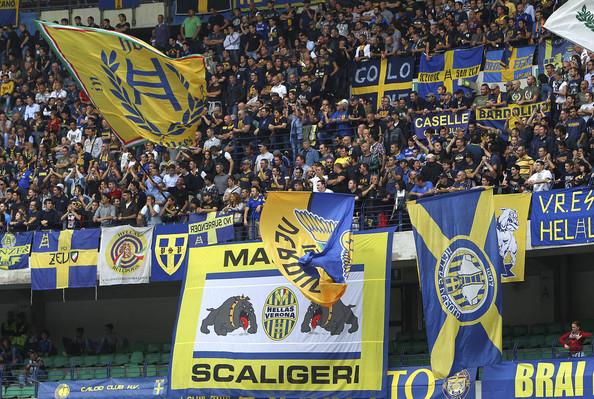 Hellas Verona Get Partial Stadium Closure. Image: Getty.