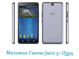 Micromax Canvas Juice 3+ Q394