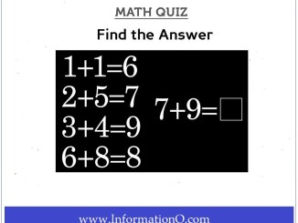 Simple Math Quiz Questions for Kids