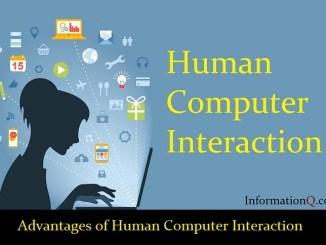 Advantages of Human Computer Interaction