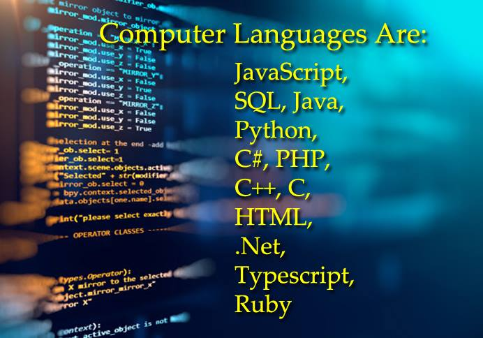 Computer Languages Are