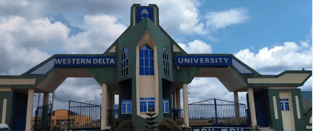 Western Delta University Gate
