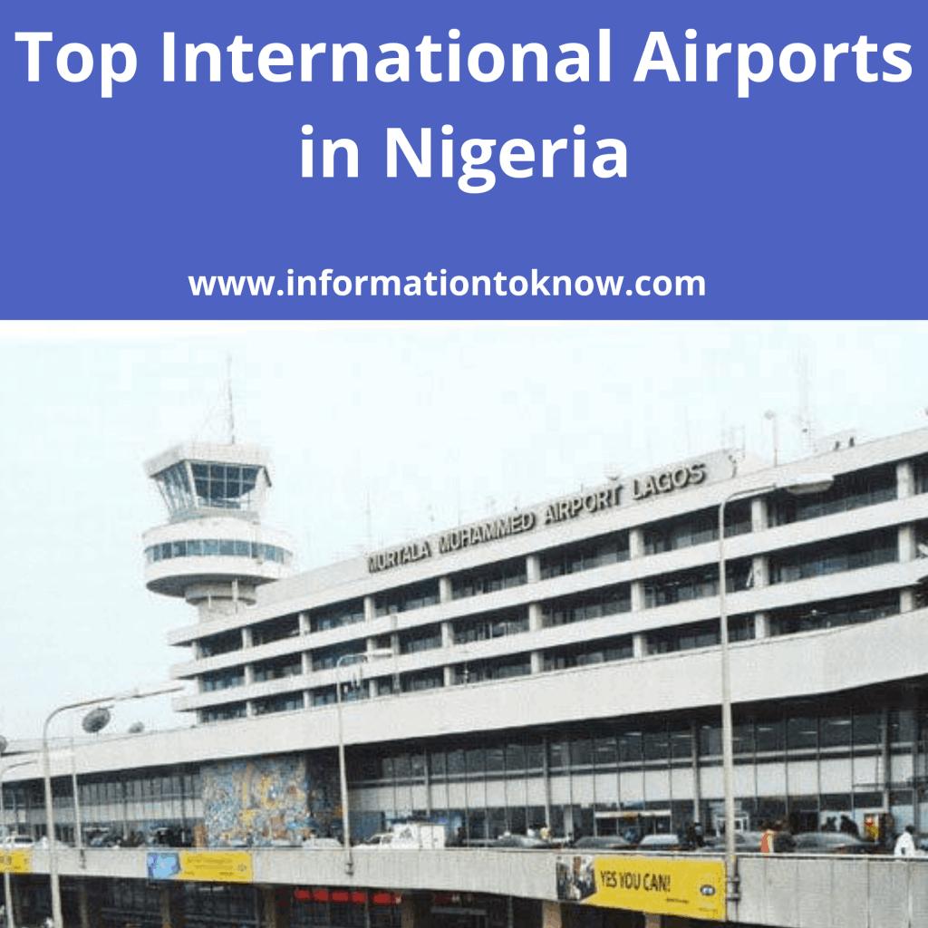 Top International Airports in Nigeria