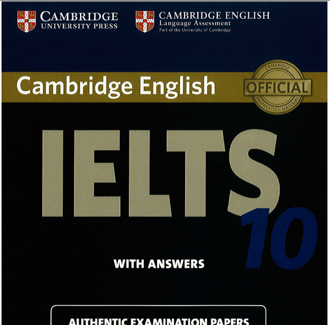CAMBRIDGE IELTS 10 PRACTICE TEST – Information To Share