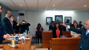 Edgar Olvera toma protesta al titular de la nueva dependencia