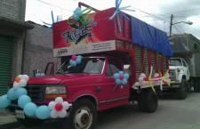 Roban camioneta con equipo de sonido