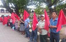 Continúa protesta de Antorcha Campesina en Oaxaca