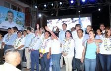 Multitudinario inicio de campaña realizó Jaime Silva