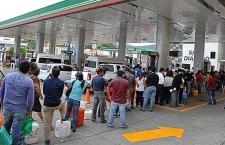 Llega el desabasto de gasolina a la Mixteca