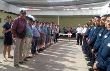 Recibe bomberos a voluntarios de Francia para reforzar vínculos de ayuda mutua