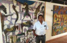Inaugura el artista zapoteco Víctor Chaca su exposición Génesis, entre sueños y mañas, mitos y leyendas