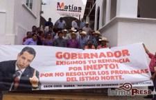 Ong´s demandan seguridad para Matías Romero y exigen renuncia del gobernador de Oaxaca