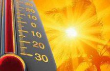 ¡Que calor!