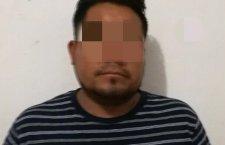 Aseguran a hombre por presunto delito de violación