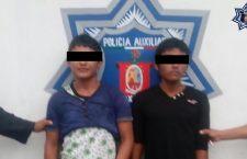 Asegura PABIC a menores armados y acusados de robo con violencia