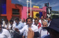 Obligan a Murat a ir a inmediaciones del basurero y le recriminan proteger al Frente Popular 14 de Junio