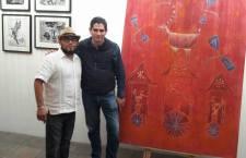 Participa artista Mario Carrizosa en proyecto 30/30/30