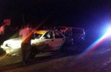Se impacta contra taxi en la recta de Zapotitlán