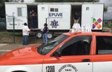 Continúa registro de vehículos en Huajuapan; buscan control en el transporte