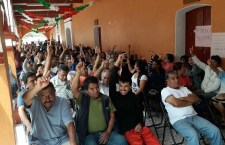 Desconocen a sus autoridades habitantes de Yucuita; nombran a otras