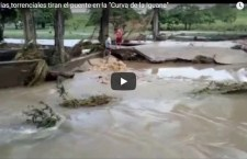 Se desbordan ríos y arroyos en la Cuenca; incomunican pueblos, afectan casas y carreteras