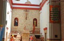 El terremoto no perdona ni a los templos; afectó a 325 de Oaxaca