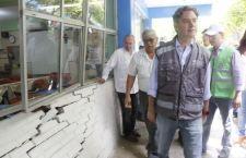 Ni luces del apoyo para reconstruir escuelas dañadas por sismos en Tuxtepec
