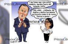 Los equilibrios políticos en Oaxaca, Meade mete mano en candidaturas al Senado y diputaciones