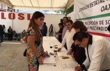 Aspirantes a diputados y diputadas que tienen visto bueno de Murat se registran