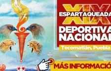 Se alistan para Espartaqueada deportiva 2017