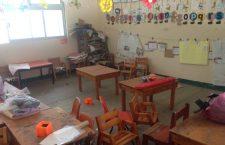 Suspenden clases en municipios afectados por el sismo